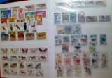 #12 Clasor cu timbre straine in toate conditiile - nestampilate si stampilate