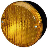Stop tripla lampa spate indicator 140mm rotund portocaliu, Hella