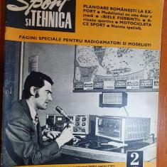 sport si tehnica februarie 1973-planoare constructie romanesca,avioane sportive