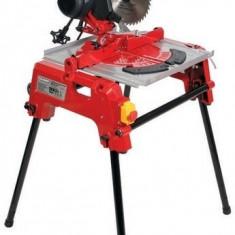 Fierastrau circular cu masa rabatabila dubla 2200 W Raider Power Tools