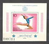 Romania.1976 Olimpiada de vara MONTREAL-colita  HR.300, Nestampilat