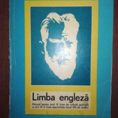 Limba engleza manual pentru anul IV licee de licee generala si anii IV-V licee specialitate- M. Dragomirescu-Nicolescu