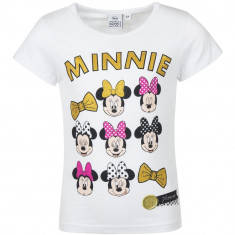 Tricou Minnie Mouse Dinsey Alb, 4-5 ani, 6-7 ani