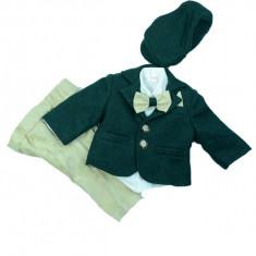 Costum elegant baieti Colibri 2035-V, Verde