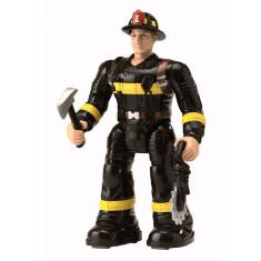 Figurina pompier cu accesorii 19 cm