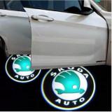Proiectoare Portiere cu Logo Skoda