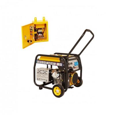 Generator de curent Stager FD 6500E+ATS 5.5 kW foto