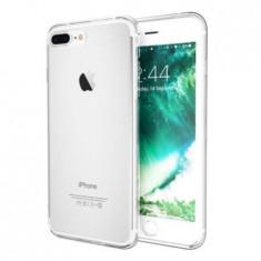 Capac de protectie Full TPU 360° (fata + spate) pt iPhone 7 Plus, transparent