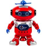Robot interactiv de jucarie, model dancer 360, multicolor