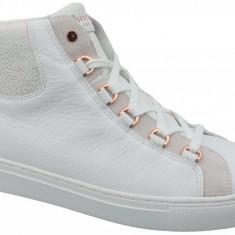 Incaltaminte sneakers Skechers Side Street Core-Set Hi 73581-WHT pentru Femei