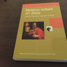 TARCIZIU HRISTOFOR SERBAN, METAFORA MILITARA IN BIBLIE