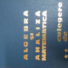 Algebra Si Analiza Matematica Culegere De Probleme Vol.2 - D. Flondor N. Donciu ,549755