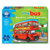 Puzzle Fata Verso Autobuz 12 piese, orchard toys