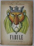 la fontaine fabule,1980 /ilustratii eugen taru/