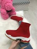 Adidasi dama rosii cu platforma marime 37, 39, 40+CADOU
