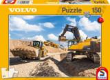 Cumpara ieftin Puzzle Volvo L120GZ, A40F, EC750D, 150 piese, Schmidt