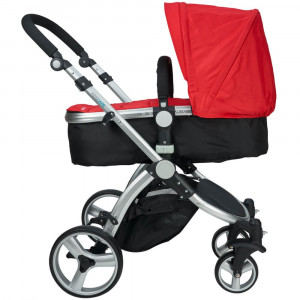 Carucior 2 in 1 Veneto rosu Kidscare for Your BabyKids