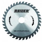 Cumpara ieftin Disc circular Raider, 315 х 30 mm, 40 T