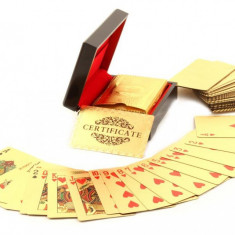 Cadou Gold Magic Playing Cards personalizabil