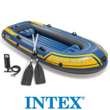 Cumpara ieftin Barca Gonflabila Challenger 3 Intex, vasle + pompa inclusa, 68370