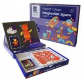 Carte magnetica cu 117 piese si 12 carduri