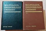 Manualul inginerului chimist 2 Volume. Ed. Tehnica, 1972 - Dumitru Sandulescu