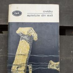 EPISTOLE DIN EXIL - OVIDIU
