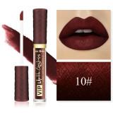 Ruj Lichid Mat Kiss Beauty VIP Long Lasting Formula 10#