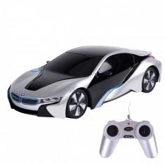 Masina cu telecomanda Rastar BMW I8, 1:24, Gri