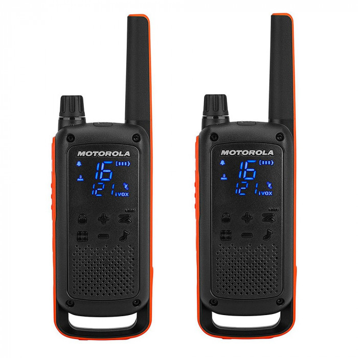 Resigilat : Statie radio PMR portabila Motorola TALKABOUT T82 set cu 2 buc
