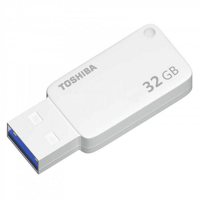 Memorie Usb Toshiba 32Gb, Usb 3.0, Alb