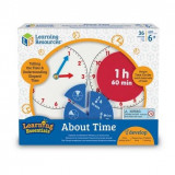 Cumpara ieftin Invatam totul despre timp - Fractii, Learning Resources