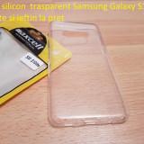 Husa silicon  trasparent Samsung Galaxy S10 lite calitate si ieftin la pret, Alt model telefon Samsung, Transparent