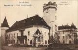 Carei castelul contelui Karolyi carte postala