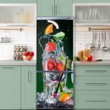 Sticker Tapet Autoadeziv pentru frigider, 210 x 90 cm, KM-FRIDGE-70