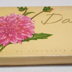 Cutie veche comunista de colectie Bomboane fine de ciocolata DALIA 1970
