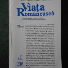 REVISTA VIATA ROMANEASCA (numarul 1-2, anul 2006)