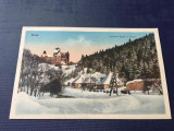 Bran Brasov Castel Regal Iarna
