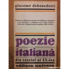 Poezie italiana din secolul al xx-lea