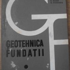 GEOTEHNICA SI FUNDATII - N. MAIOR, M. PAUNESCU