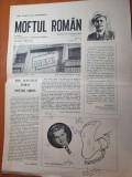 ziarul moftul roman 26 decembrie 1989- revolutia -anul 1,nr.1 al ziarului