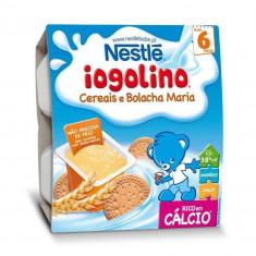 Cereale copii NESTLE Baby Iogolino cereale si biscuiti 4x 100g de la 6 luni