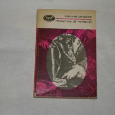 Maxime si reflectii - Vauvenargues - 1973