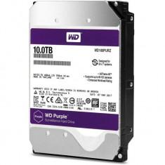HDD intern 3.5, 10TB, PURPLE, SATA3, IntelliPower (5400rpm), 256MB, Surveillance HDD