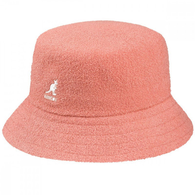 Palarie Kangol Bermuda Bucket Peach Pink (Masura : XL) - Cod 235225423565 foto