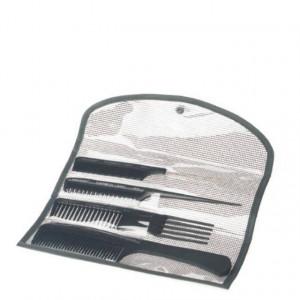 Set piepteni carbon Profesional OLIVIA GARDEN CO-CBPCH-ST000 pentru servicii tehnice&chimice ST Negru