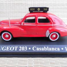 Macheta Peugeot 203 Taxi (1960) 1:43 Amercom