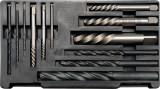 Capete pentru desurubat suruburi rupte si burghie pentru metal HSS YATO