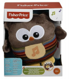 Jucarie Fisher Price Soothe And Glow Owl Brown