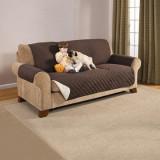 Cumpara ieftin Husa de protectie pentru canapea cu 2 sau 3 locuri Couch Coat, 2 fete. Lichidare de stoc